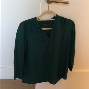 Green theory blouse